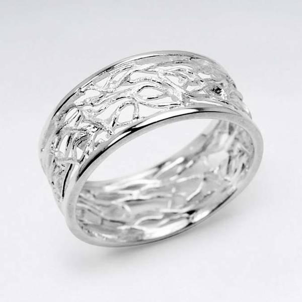 Bilde av Grener - Sølvring